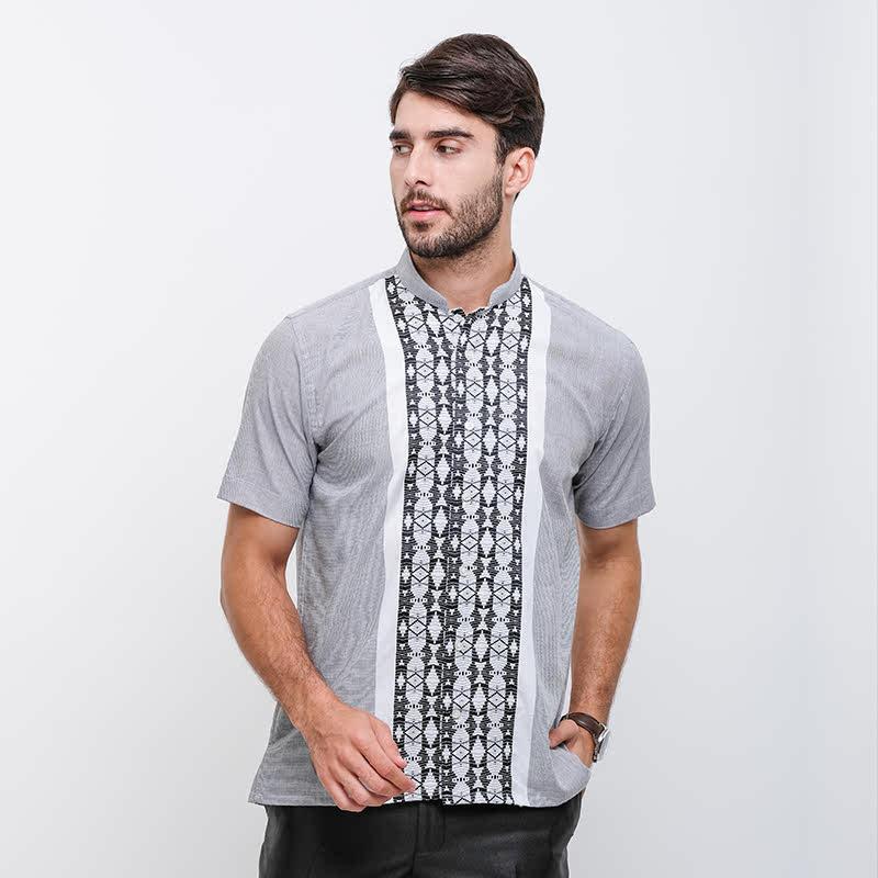Gianni Visentin Regular Shirt -Abu