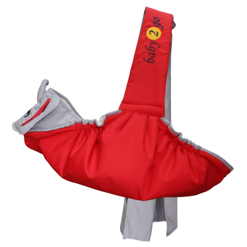 Baby 2 Go Slingrider  Animal Series Gajah B2G1102 Merah