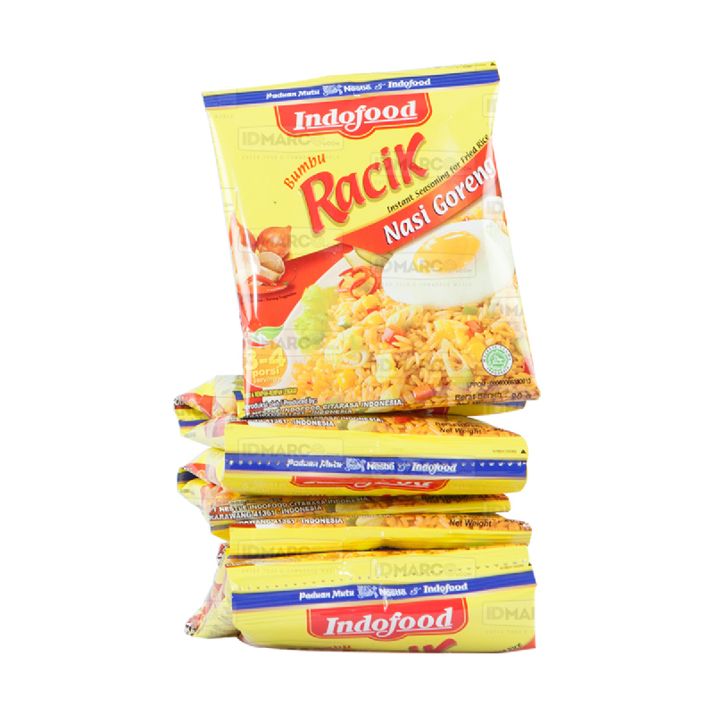 Bumbu Racik Indofood Nasi Goreng Renceng Baru (1 renceng isi 10 pcs)