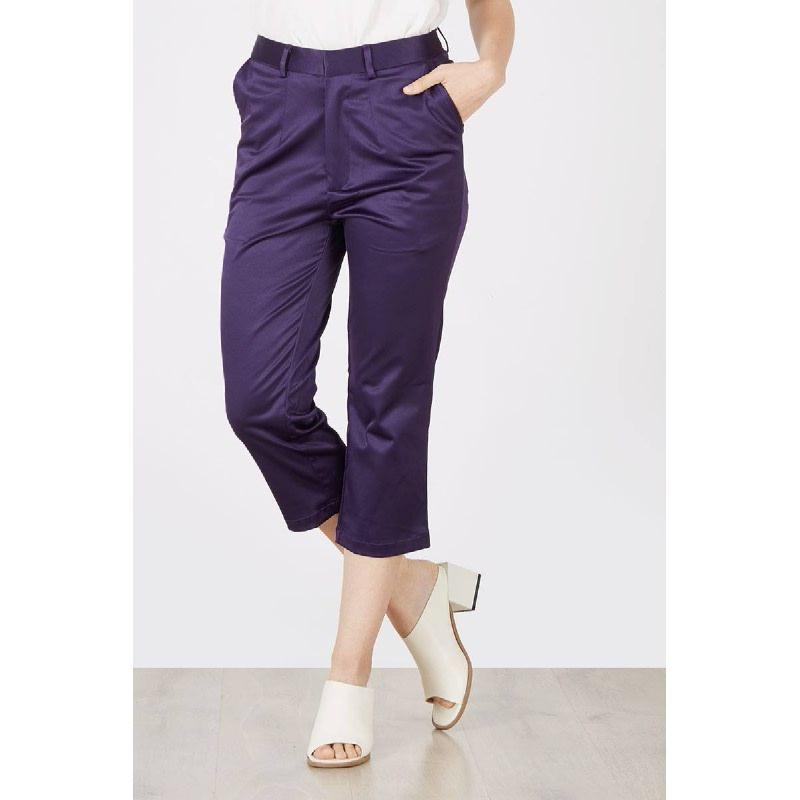 Macen Crop Pants Purple