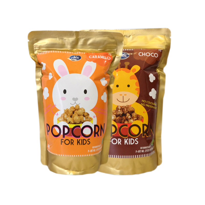 Abefood Caramelo Pop Corn For Kids + Abefood Chocolate Pop Corn For Kids