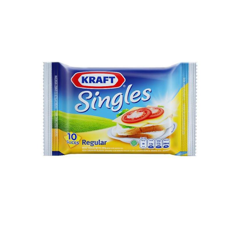 Kraft Keju Singles 10 Slice 200G