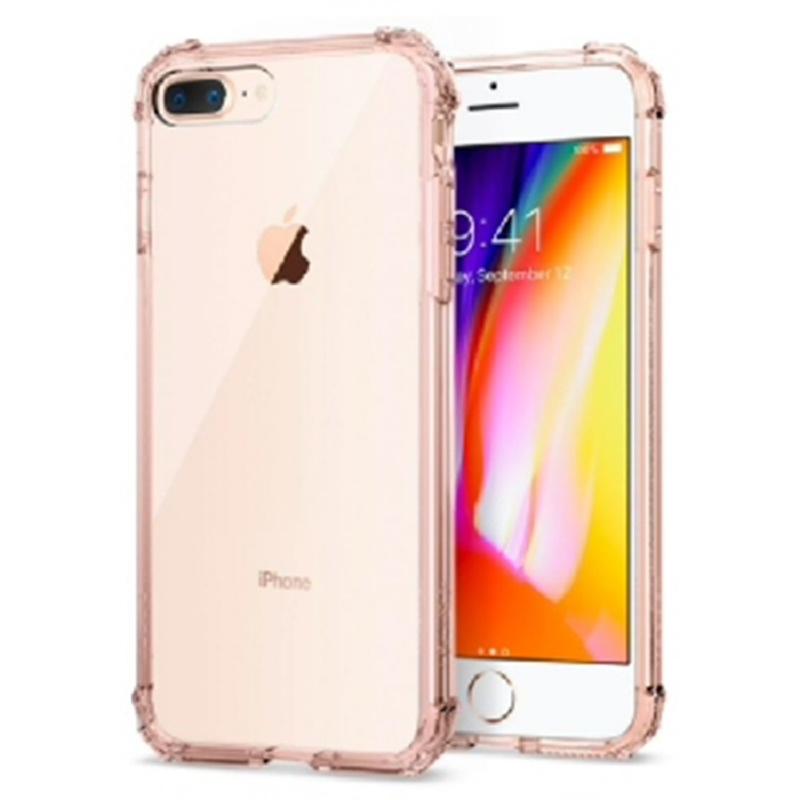 Spigen iPhone 7 Plus, 8 Plus Case Crystal Shield - Rose Crystal