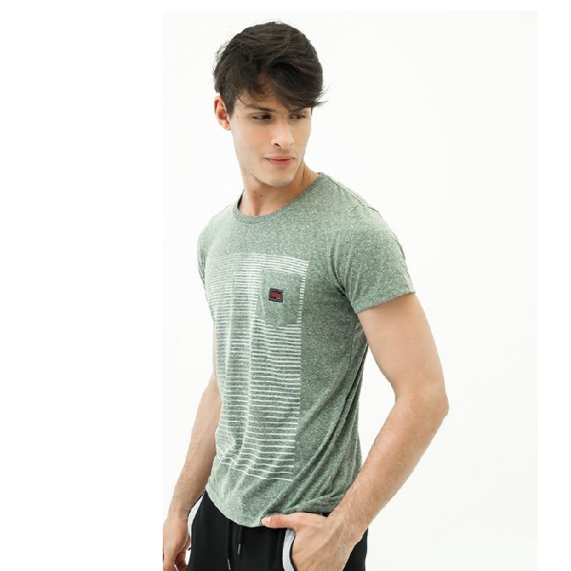 3second Men Tshirt 0605 Green