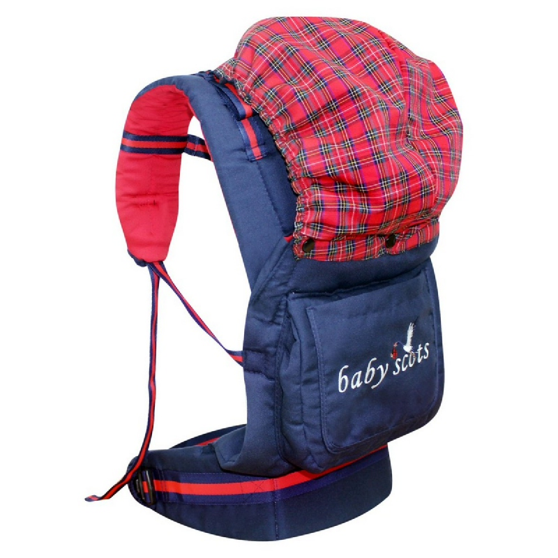Baby Scots Embroidery Baby Carrier 2BSG3101 Navy