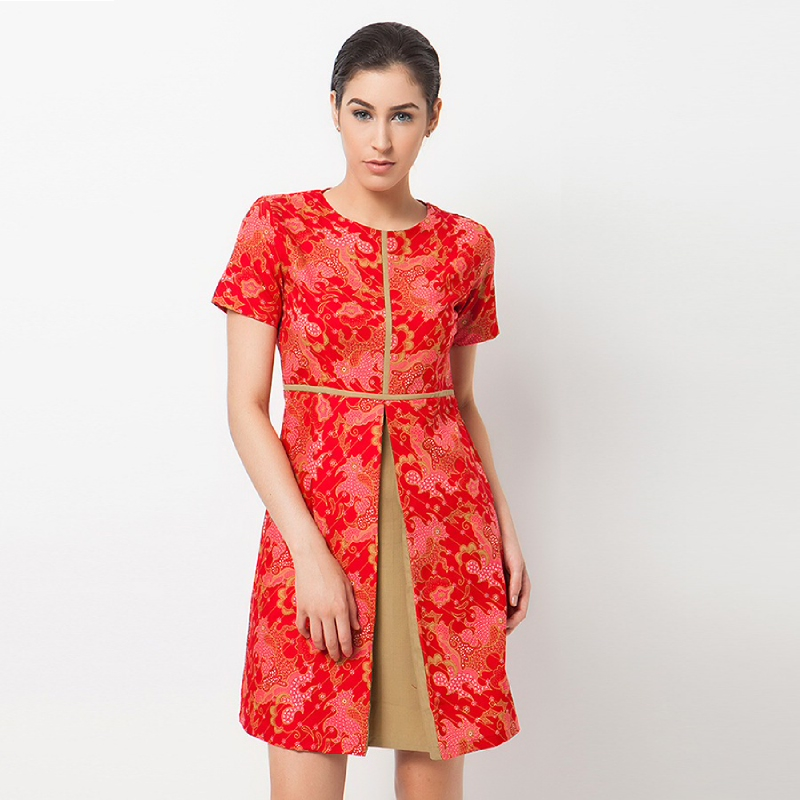 Dress Batik A-WD-0969-RED Red