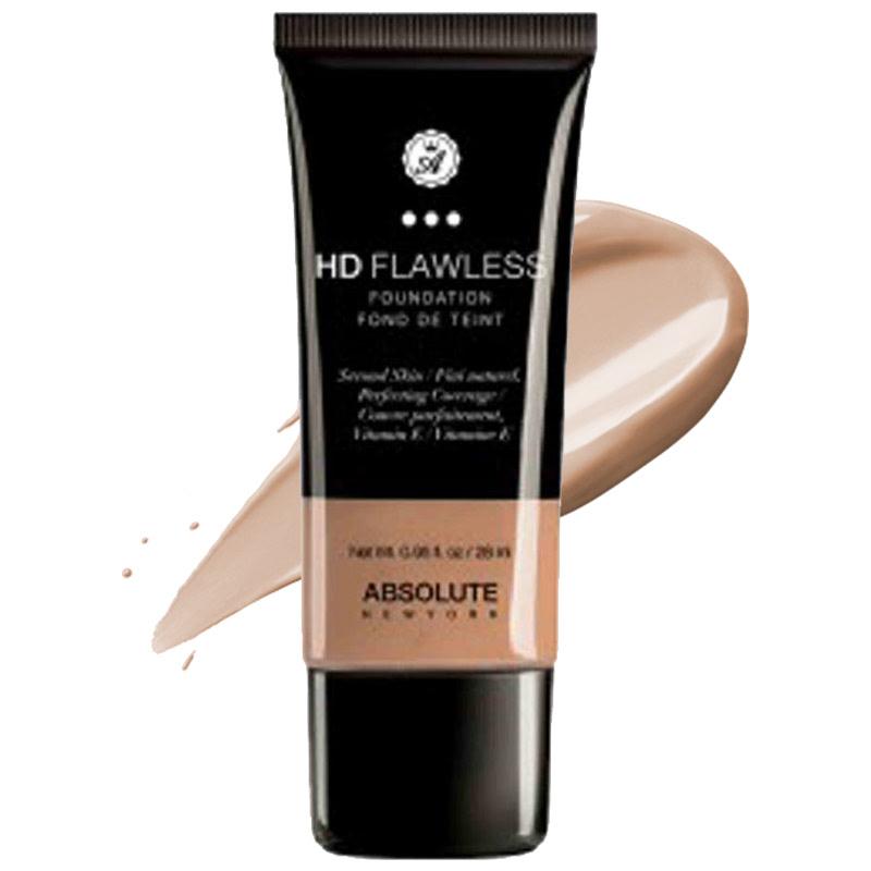 Absolute New York HD Flawless Foundation Honey