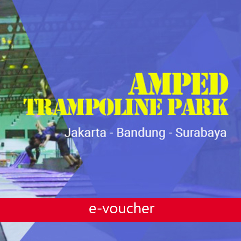 Amped - Amped Trampoline Park Bandung Tue-Fri Ticket (Bonus Locker)