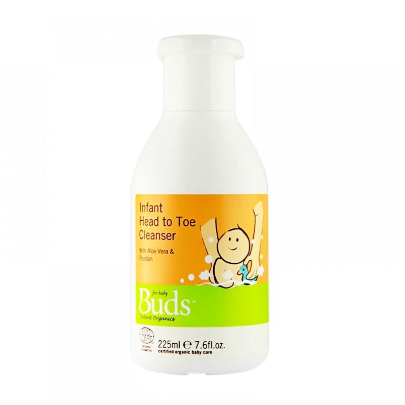 Buds Organics Infant Head To Toe Cleanser [225ml]