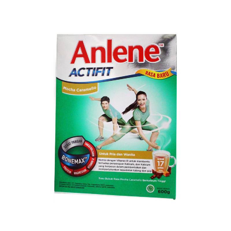 Anlene Actifit Mocha Box 600Gr