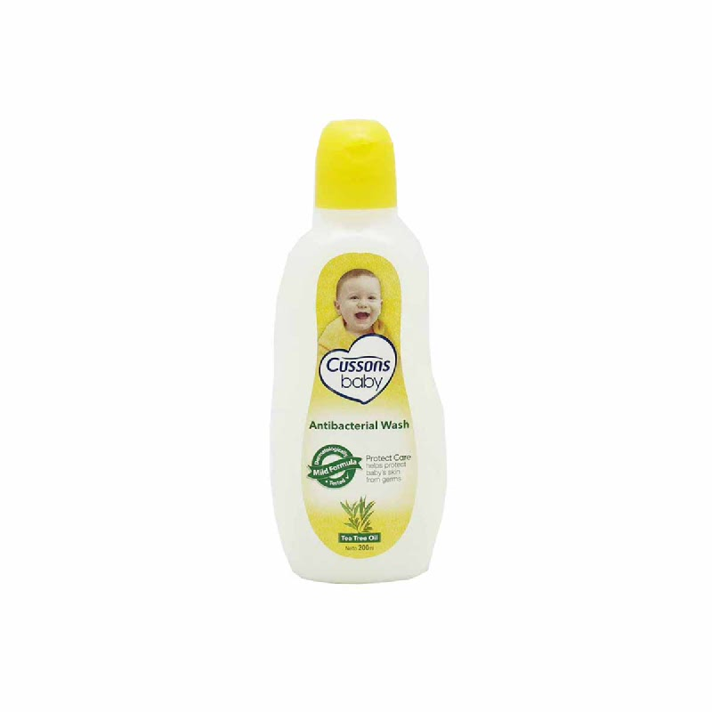 Cussons Baby Bath Antibacterial Tea Tree Oil 200 Ml