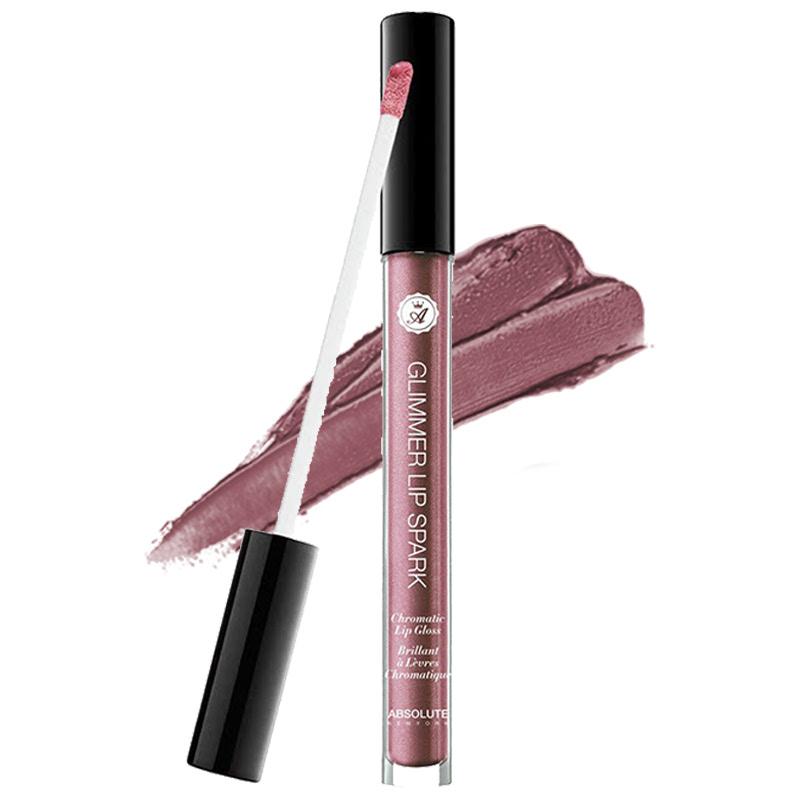 Absolute New York Glimmer Lip Spark Chromatic Lip Gloss MLGS08 Garnet