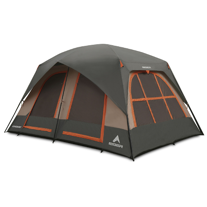 EIGER Guardian 8P Tent - Grey
