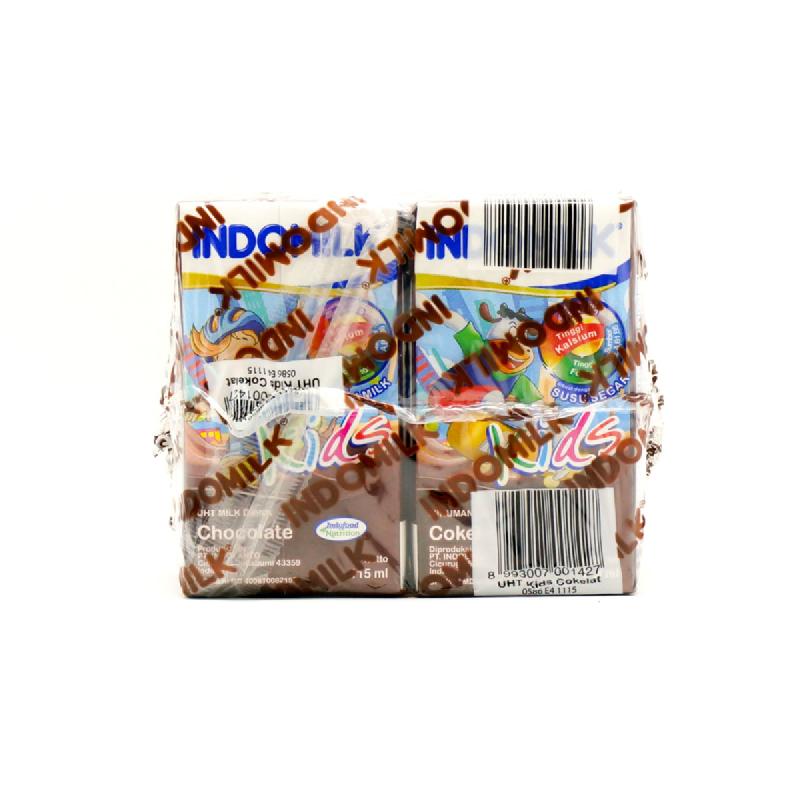 Indomilk Uht Reguler Choco Multipack 3 X 190 Ml