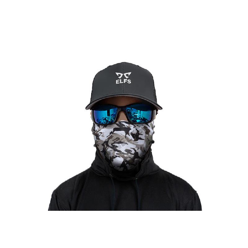 Elfs Shop Buff Bandana Masker Serbaguna Army Bird Hitam