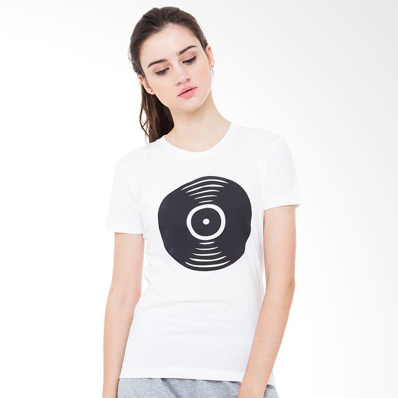 Sabichi Disc BC T-shirt White