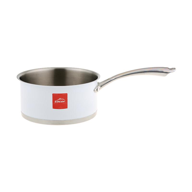 White Saucepan 18 cm