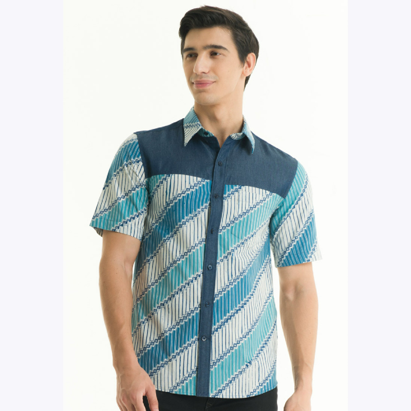 Short Sleeve Cotton Cap Shirt CM17-001A