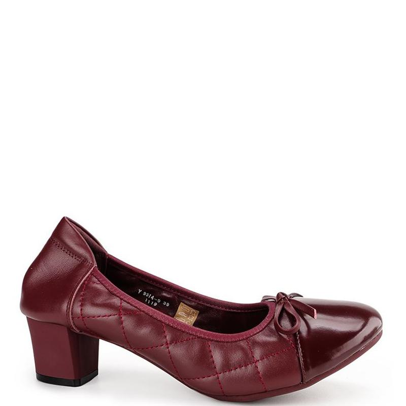 Andrew Ladies Yaslyn Heels Red