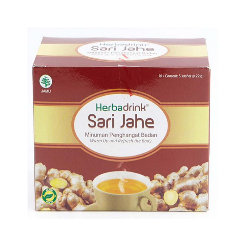 Herbadrink Sari Jahe [5S X 22G]