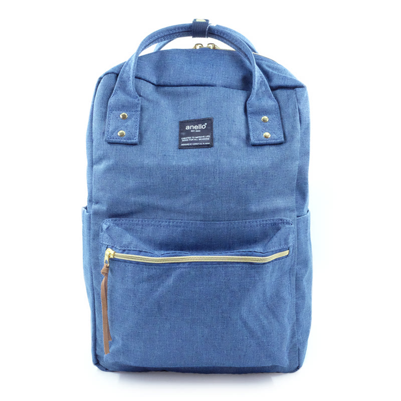 Anello Square Backpack Denim Blue