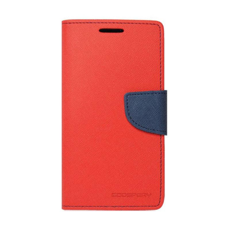 Goospery Fancy Diary I Phone 6 Plus - Merah Biru