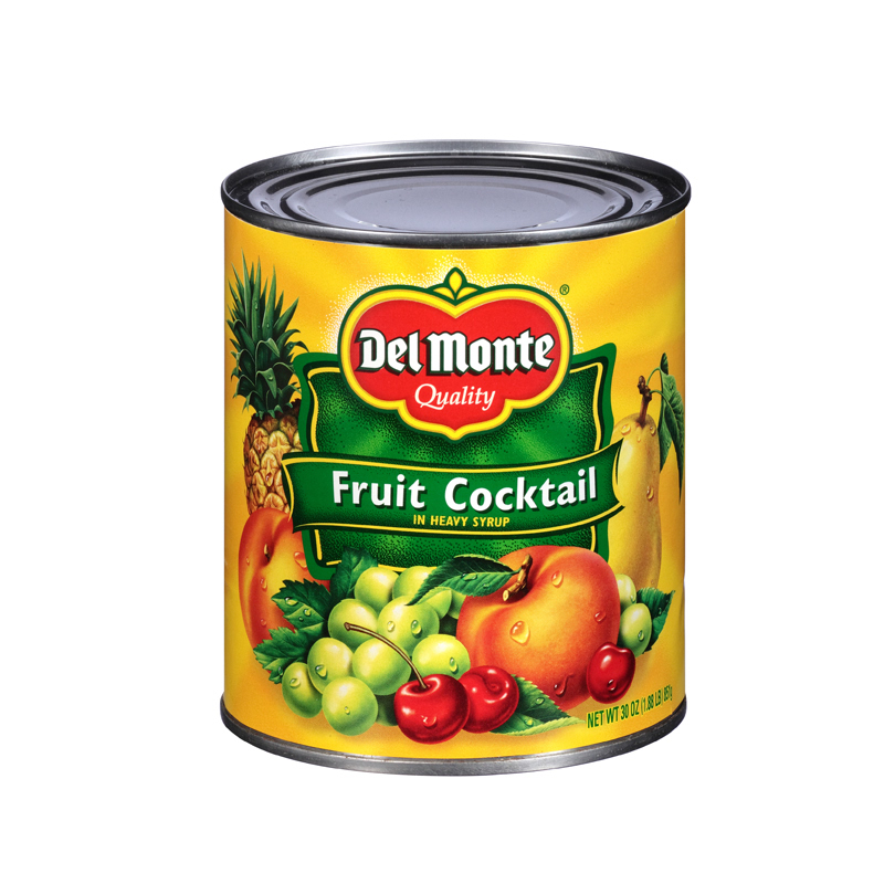 Del Monte Fruit Cocktail In Heavy Syrup 29 Oz