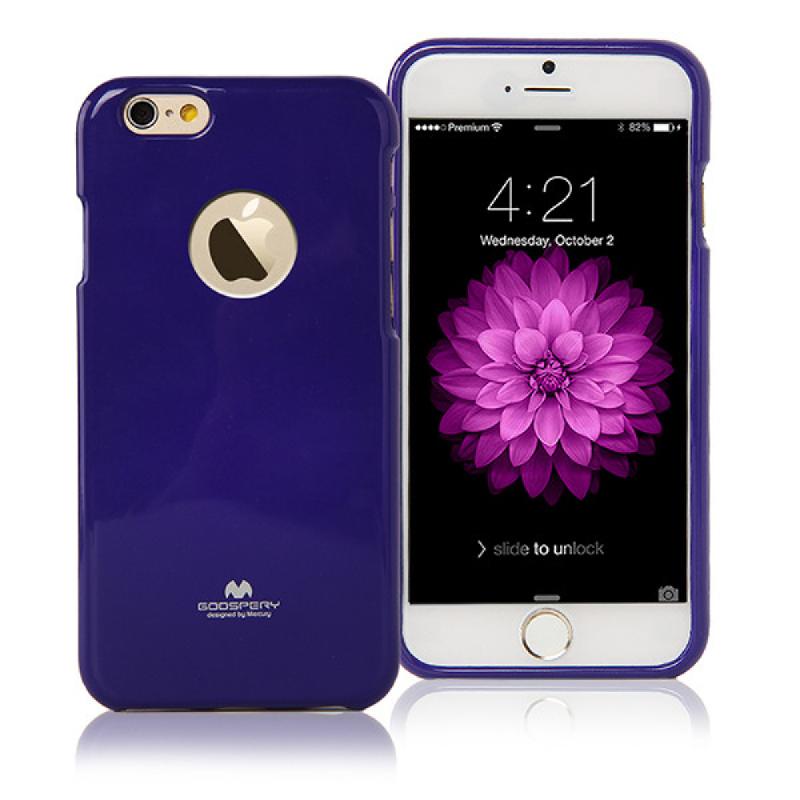Goospery Jelly Case for iPhone 6 - Ungu