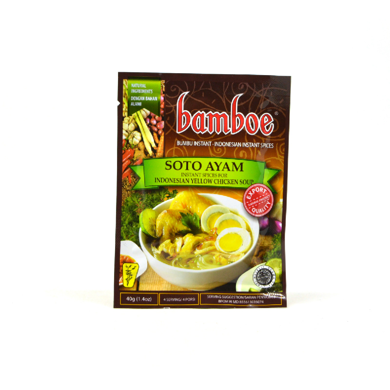 Bamboe Bumbu Soto Ayam 40 Gram