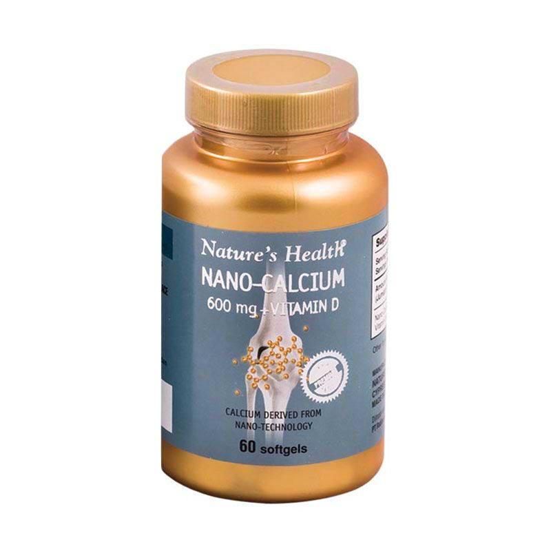 Natures Health Nano Calcium 60 Softgels