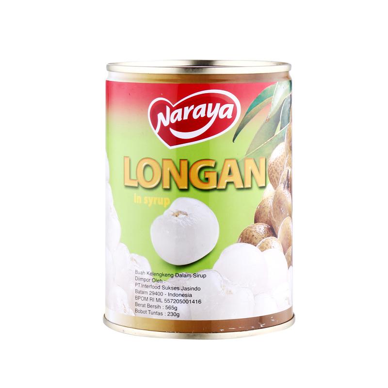 Naraya Longan In Heavy Syrup 565G