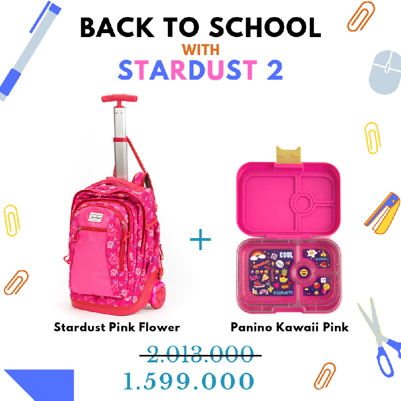 Back to School with Stardust Pink Flower