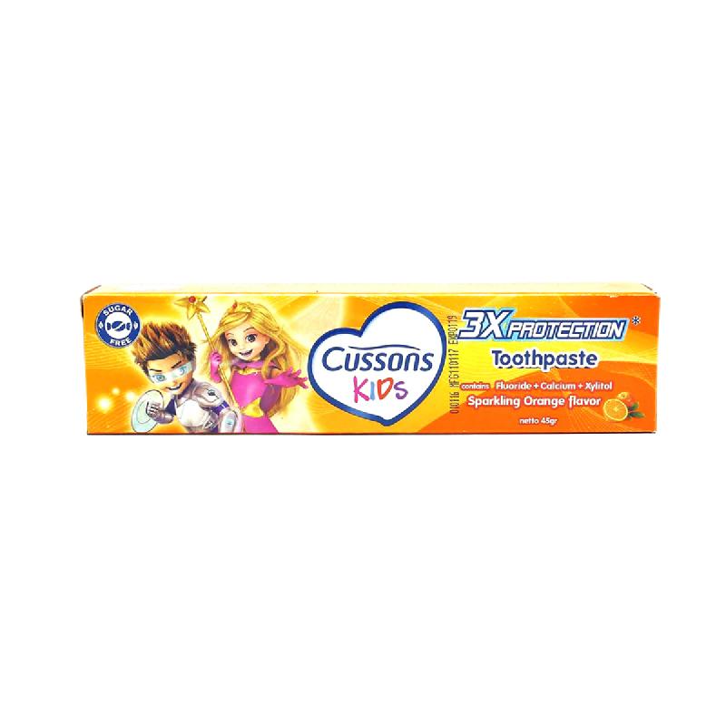 Cusson Kids Pasta Gigi Orange 45gr