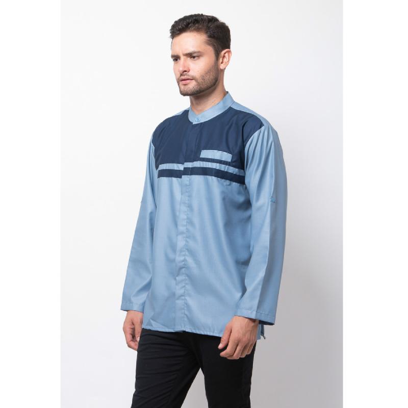 ALLEV Mahdi Long Shirt Biru