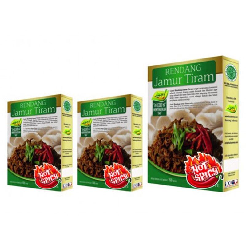 3 RENDANG JAMUR TIRAM HOT SPICY