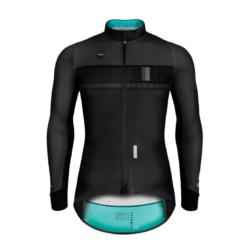 Gobik Tempes Black Steel Lightweight Jacket