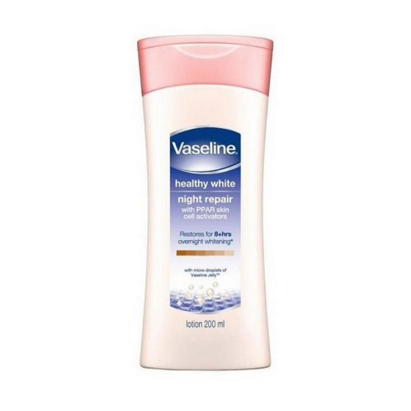 Vaseline Lotion Healthy White Night Repair 200 ml