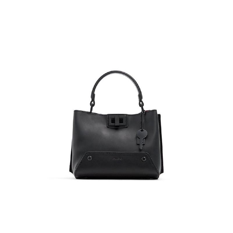Aldo Ladies Handbag Top Handle Meawet-001 Black