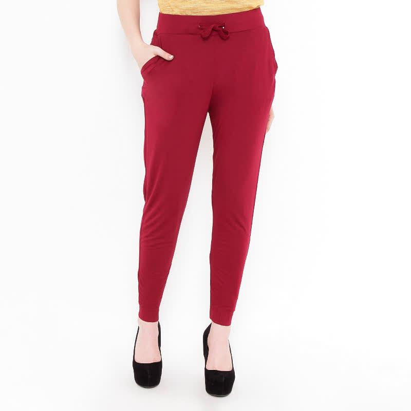 Morphidae Glenda Pants Red