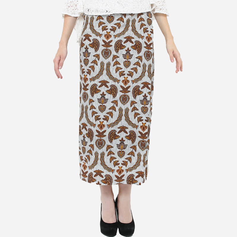 Anakara Maxi Wrap Skirt Grelato Brown