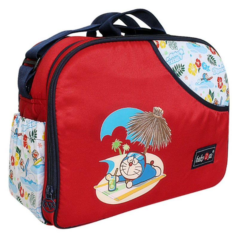 Baby 2 Go Medium Bag DoraemonB2T4201 Merah