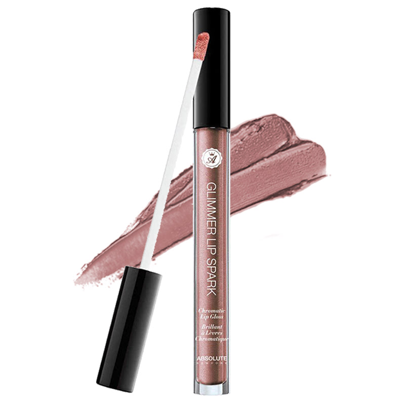 Absolute New York Glimmer Lip Spark Chromatic Lip Gloss MLGS07 Topaz