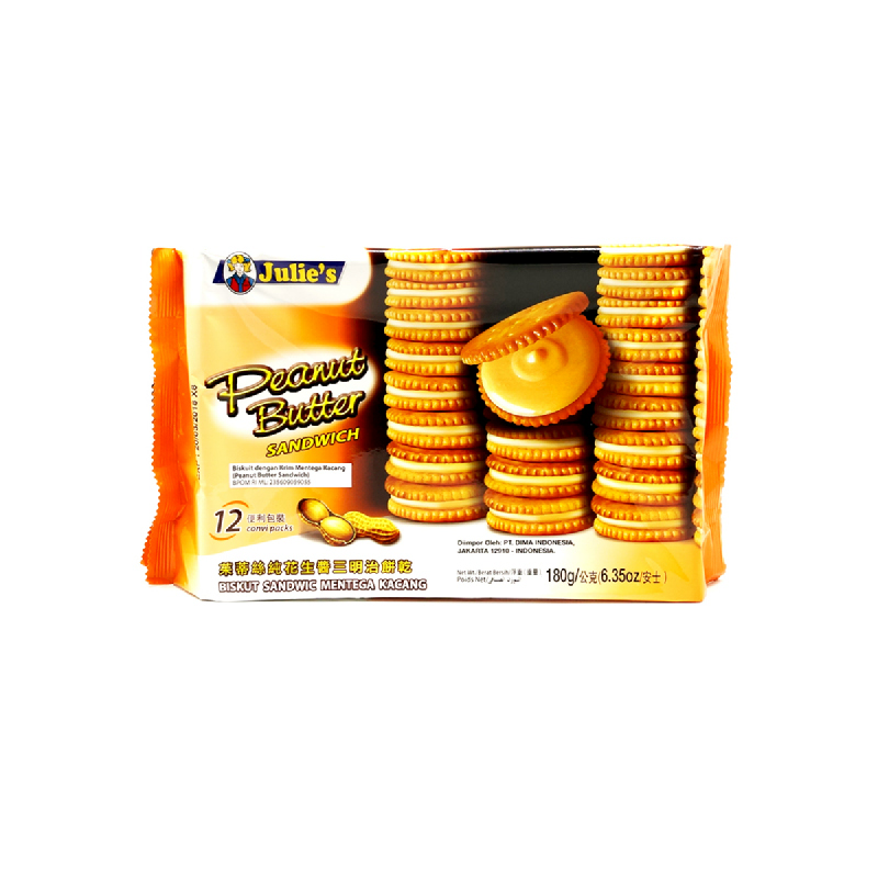 Julies Peanut Butter Sandwich 180g