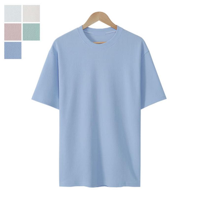 LW_River Round Short Sleeve T-shirt - Sky