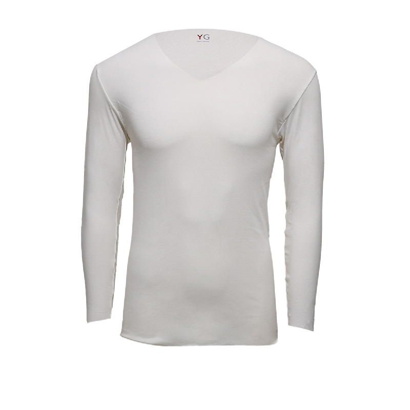 Gunze Vneck Men Tshirts YV0015 White