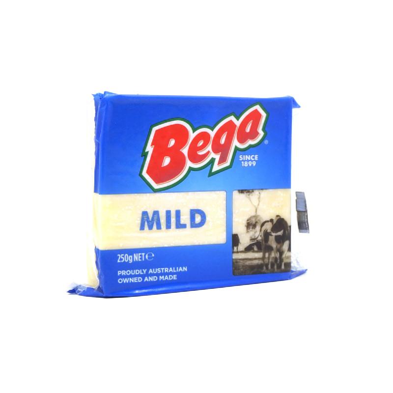 Bega Cheddar Mild 250g