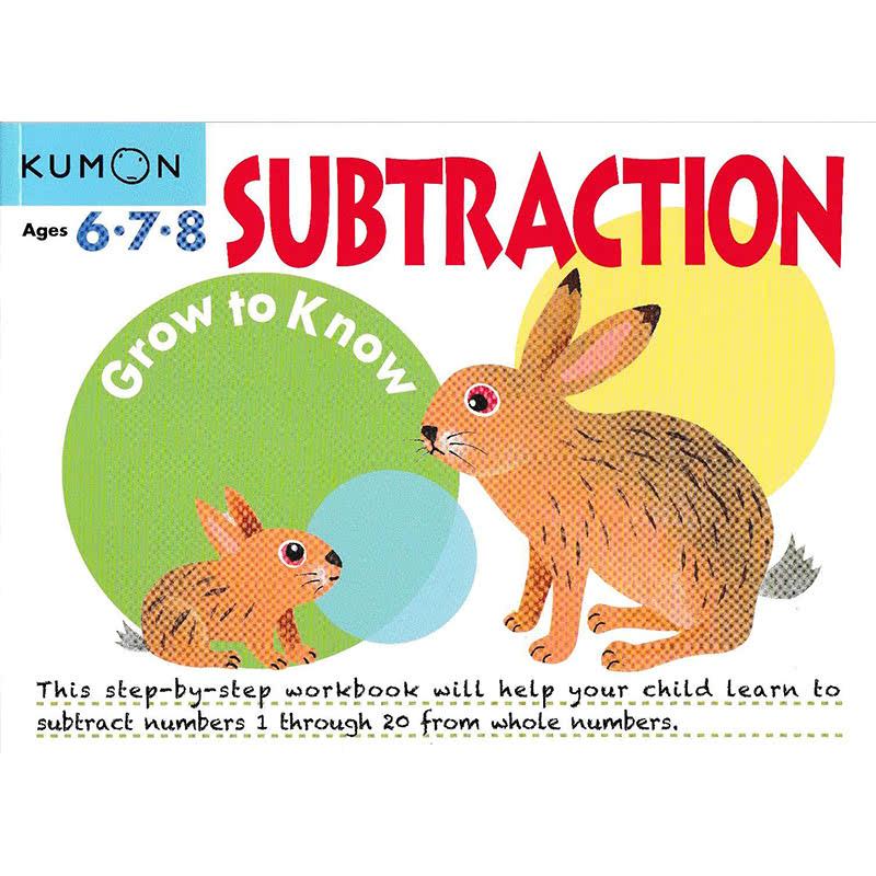 Kumon Grow to Know Subtraction