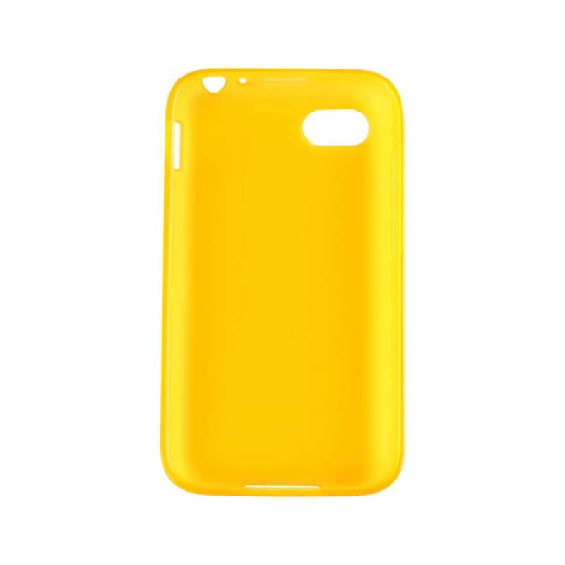Soft Color TPU Case For HitamBerry Q5 Kuning