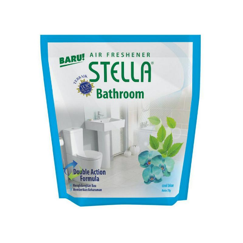 Stella Bathroom Freshener Cool Blue 70G