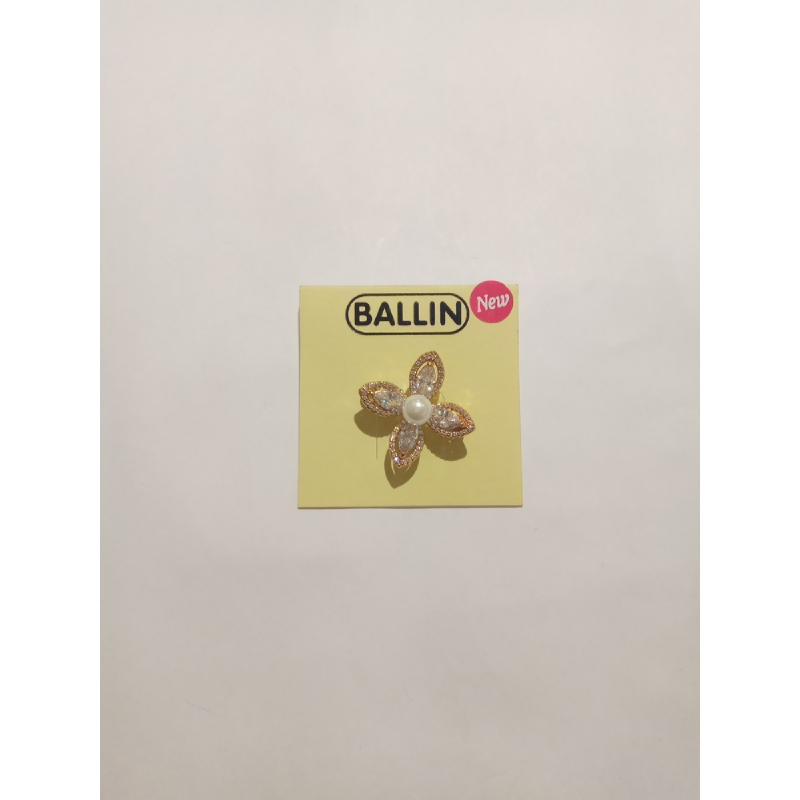Ballin - Women Brooch FF BR007G Gold